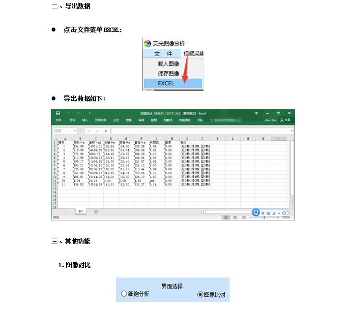 荧光分析软件-上海思长约光学仪器